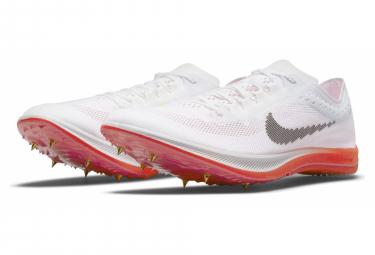 Chaussures d'Athlétisme Nike ZoomX Dragonfly Blanc / Orange