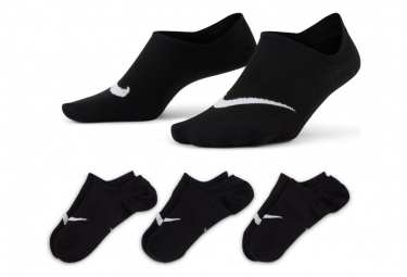 Chaussettes (x3) Nike Everyday Plus Lightweight Noir Unisex