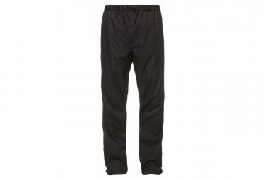 Pantalon de pluie Vaude Fluid II Noir