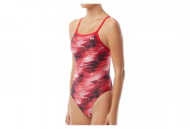 Tyr Surge Diamondfit 1 Piece Swimsuit Red