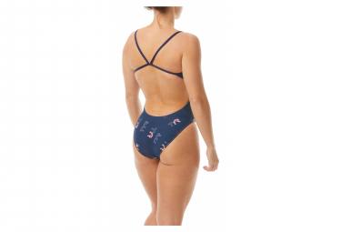 Tyr Cascading Cutoutfit Women's 1 Piece Swimsuit Blue