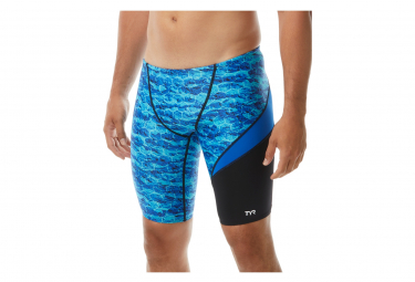 Tyr Agran Wave Jammer Blue Swimsuit