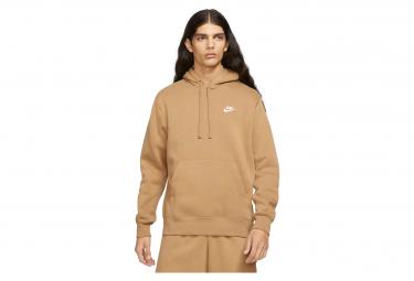 Nike Sportswear Club Fleece Sudadera con capucha marrón