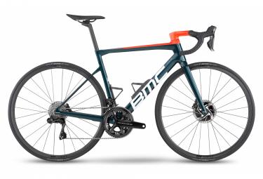 BMC Teammachine SLR01 One Road Bike Shimano Dura-Ace Di2 12S 700 mm Petrol Blue 2022