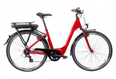 Bicicleta urbana eléctrica central Gitane Organe Shimano Tourney / Altus 8S 500Wh Rojo 2021