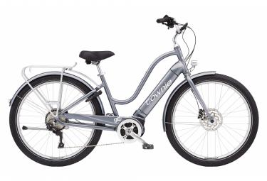 Vélo de Ville Électrique Electra Townie Path Go! 10D Equipped Step-Thru Shimano Deore 10V 500 Gris 2021