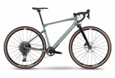 BMC URS LT Two Gravel Bike Sram Rival eTap AXS 12V 700 mm Antracite Grey 2022