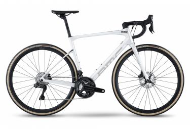 Bicicleta de carretera BMC Roadmachine One Shimano Ultegra Di2 12S 700 mm Blanco 2022