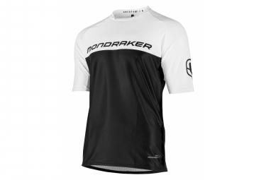 Mondraker Trail Sherpa Long Sleeve Jersey Black / White