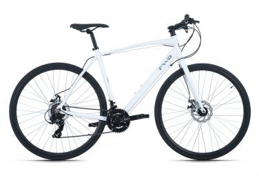 Vélo Fitness 28'' FWD blanc TC 59 cm Adore