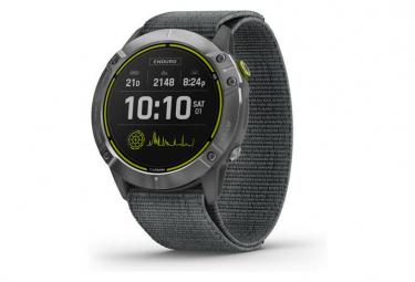 Montre GPS en acier inoxydable Garmin Enduro