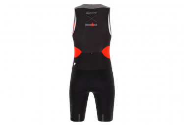 Santini X Ironman Audax Aero Trisuit Black / Red