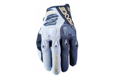 Gants Five Gloves Enduro 2 Noir / Gris / Or