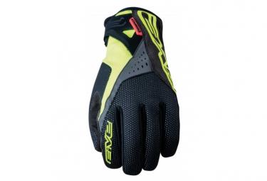 Gants Five Gloves Wp-Warm Noir / Jaune