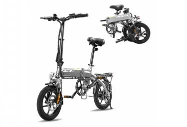 Vélo électrique HITWAY E-Bike Vélo pliant en aluminium, batterie 7,5Ah, moteur 250 W, autonomie jusqu'à 45 km BK3-HW