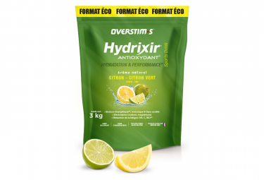 OVERSTIMS Energy Drink ANTIOXYDANT HYDRIXIR Lemon - Lime 3kg