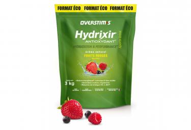 Boisson Énergétique Overstims Hydrixir Antioxydant Fruits Rouges 3Kg