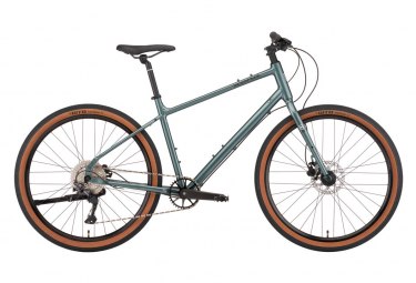 Vélo de Ville Fitness Kona Dew Plus Shimano Deore 10V Bleu 2022