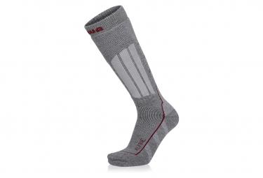 Paar Lowa Mountaineering lange graue Socken