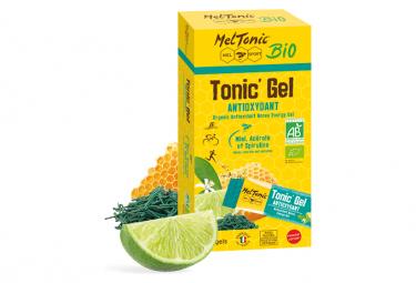 8 Gels énergétiques Meltonic Antioxydant BIO Miel Acerola Spiruline 20g