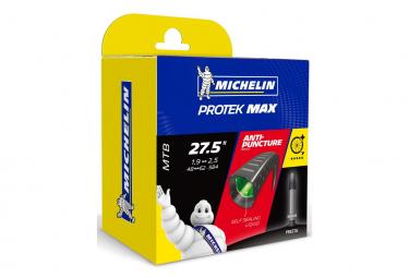 MICHELIN Chambre à Air VTT B4 PROTEK MAX Liquide auto réparant 27.5x1.90/2.50 Valve Presta 40mm