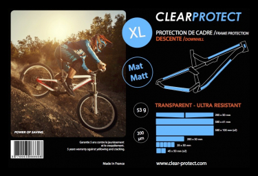 Kit Protections Clearprotect Transparent Pack XL Mat