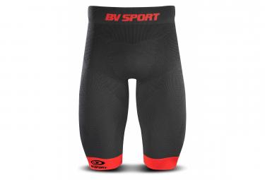 BV SPORT Compression Short TRAIL CSX Black Red