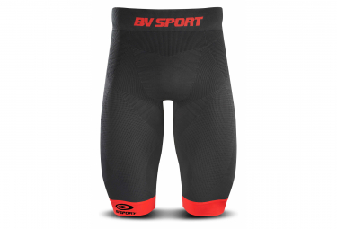 BV SPORT Compression Short TRAIL CSX Black Red