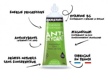 Gel Énergétique Overstims Antioxydant Liquide Citron
