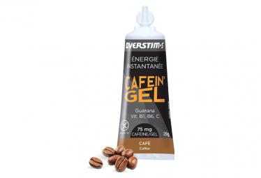 Overstims Gel Energetico Cafein Gel Cafe