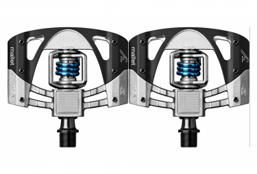 CRANKBROTHER Pedals MALLET 3 Black Silver Blue