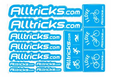 Planche de Stickers ALLTRICKS Bleu