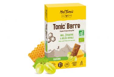 MEL TONIC' HONEY ALMOND 5 Energys Bars