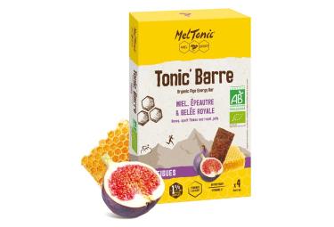 5 Barres énergétiques Meltonic Tonic BIO Miel Figue 5x25g