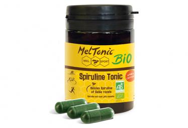 Complément Alimentaire Meltonic Spiruline Tonic BIO 60 gélules