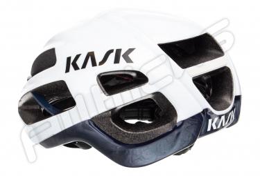 Casque KASK Protone Blanc Bleu Foncé