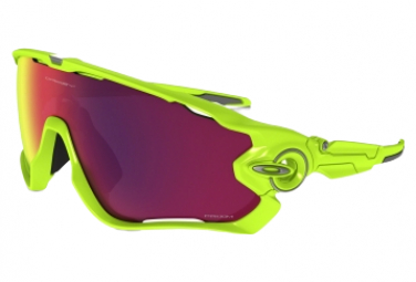 Gafas Oakley Jawbreaker  green red Prizm Road