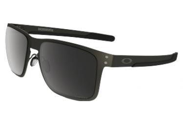 OAKLEY Lunettes Holbrook Metal Matte Gunmetal/Prizm Black Polarized Ref OO4123-0655