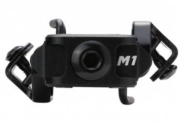 Paire de Pédales VTT HT COMPONENTS M1 Stealth Noir