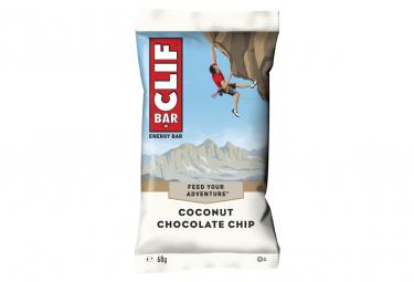 Barre Énergétique CLIF BAR Noix de Coco Pepites de chocolat 68g