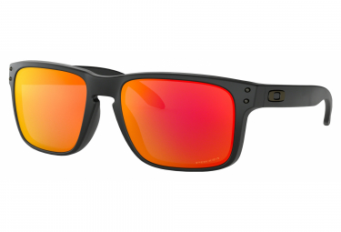 Gafas Oakley Holbrook  black orange Prizm Ruby