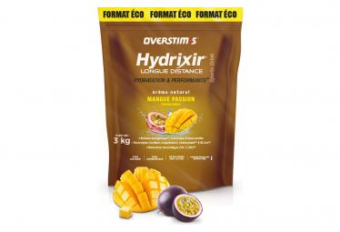 Boisson Énergétique Overstims Hydrixir Longue Distance Mangue Passion 3kg