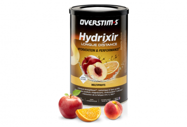 Overstims Energy Drink Hydrixir Longue Distance Multifruit 600g