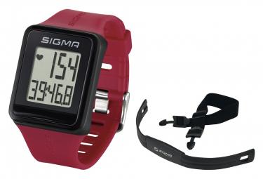 Montre de Sport Sigma ID Go Rouge