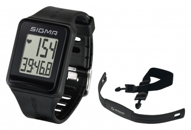 Sigma GPS ID Go Watch Black