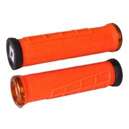 Pack poignee ODI elite flow lock on 130mm orange