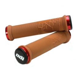Paire de grips Sensus Disisdaboss MTB Marron 143 mm