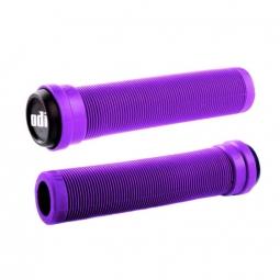 Paire de grips odi longneck st bmx violet143mm 143
