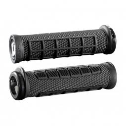 Paire de grips ODI Elite Pro Noir 130 mm Lock-on Noir