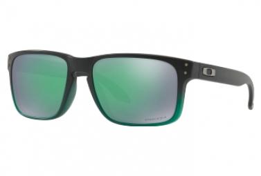 Oakley Holbrook Sunglasses Black Green - Prizm Jade Ref OO9102-E455